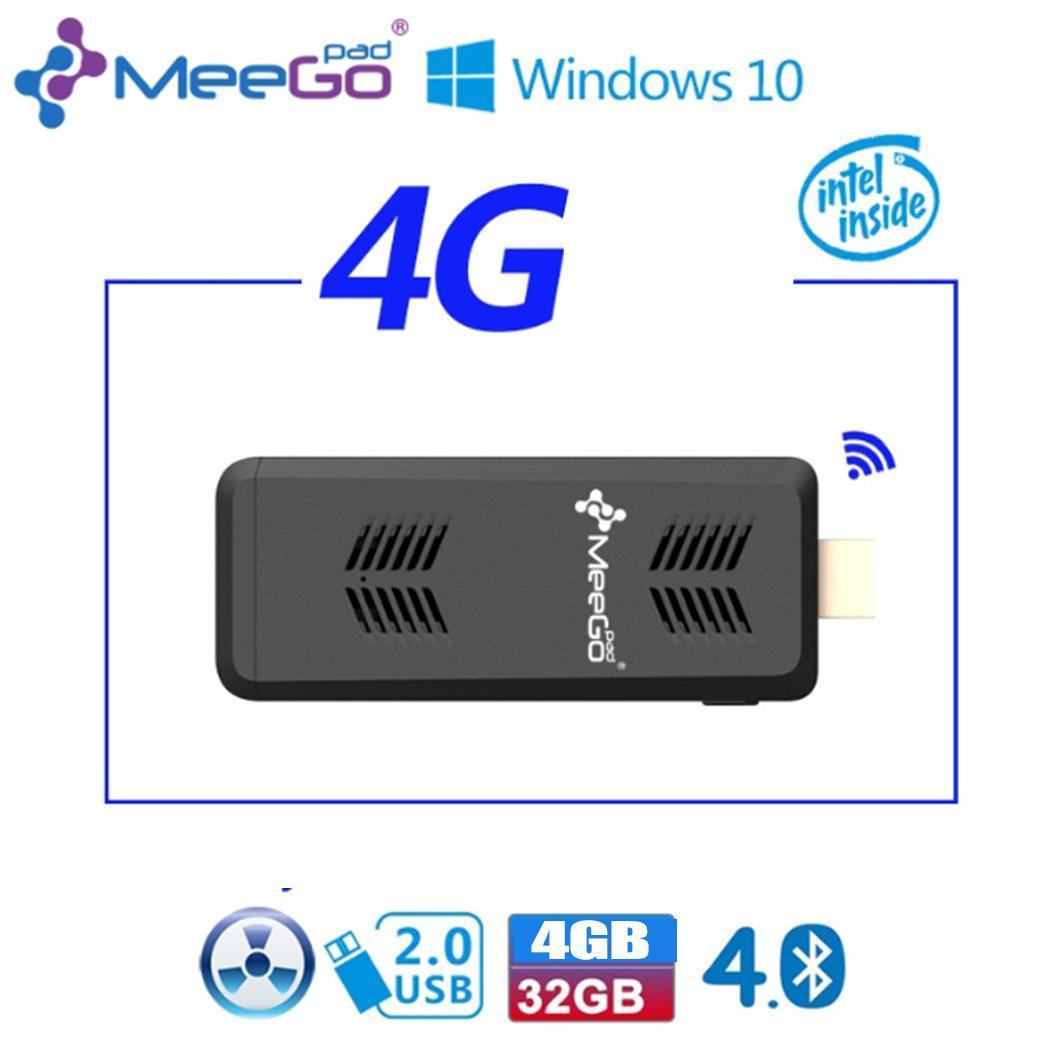 Coocher MINI PC Pocket Computer Mini Fanless Windows 10 Licenced 4GB RAM 32GB ROM Intel Atom X5-Z8300 4K BT4.0 WiFi USB 3.0