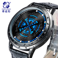 Tutor insignia LED hombres Analógico reloj de Pulsera deportivo 30ATM impermeable Marca de relojes de Lujo de Visualización de Los Hombres Reloj Digital Del Relogio masculino