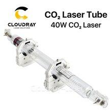 Cloudray Co2 Tubo Del Laser de Cristal 700 MM 40 W Cristal Lámpara de Láser de CO2 de Grabado Láser Máquina De Corte