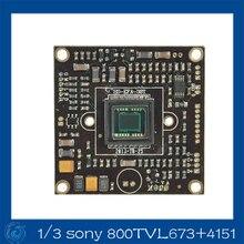 1/3″ Sony Effio-A 800TVL CCD camera  ccd board.673+4151