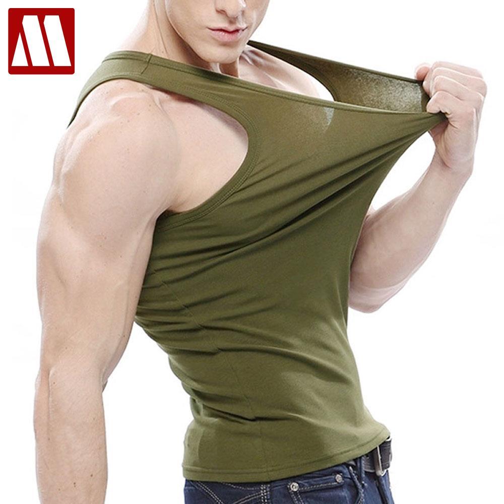 800c79741 € 6.68 49% de DESCUENTO|Los hombres Stringer tanque superior Mens  culturismo Fitness para hombres camisetas de manga larga de Lycra tanque  camisas ...