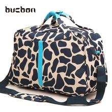 Portable Large Capacity Waterproof Fitness Gym Bag Men Women Foldable Oxford Cloth Travel Handbags Sport Crossbody Bag HAB106