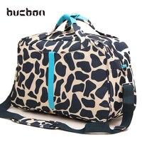 Portable Large Capacity Waterproof Fitness Gym Bag Men Women Foldable Oxford Cloth Travel Handbags Sport Crossbody