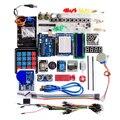 Бесплатная Доставка NEW! модернизированная версия для arduino Funduino комплект ООН r3 развития борту комплект, содержащий мембранная клавиатура