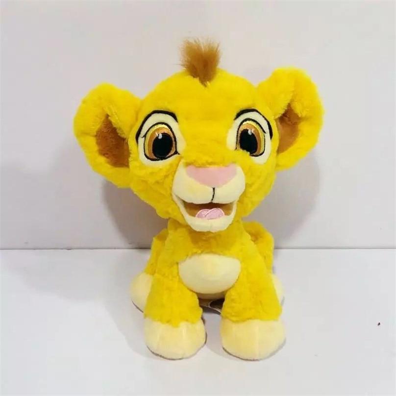 1pieces/lot 20cm Cartoon Plush The Lion Nala Simba Timon Doll Toy Decoration Of Household Car Decoration Christmas Gift