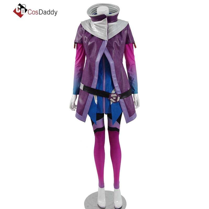 CosDaddy Sombra Cosplay Olivia Colomar Cosplay Costume  Full Set Dark Shadow  OW