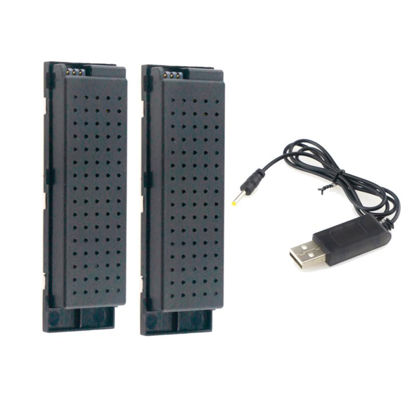 2pcs 3.7V 500MAH Lipo Battery for Eachine E56 JJRC H47 RC Quadcopter+ USB Charge Z1103 зарядное устройство duracell cef14 аккумуляторы 2 х aa2500 mah 2 х aaa850 mah
