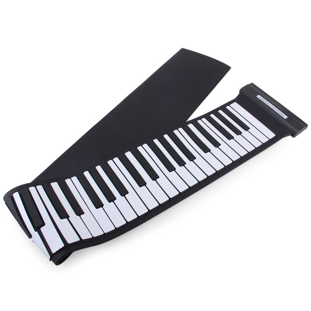 New Creative Wireless Keyboard MD88S USB MIDI Roll Up Piano Kit with Flexible 88 Keys Professional MIDI Keyboard For Children