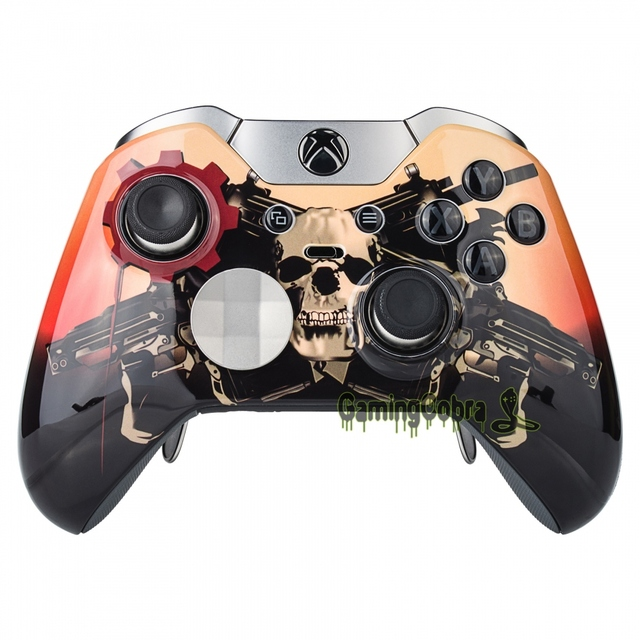 US $9 58  Controller Front Shell Custom Mods Faceplate with Black Ring for  Xbox One Elite-in Cases from Consumer Electronics on Aliexpress com  