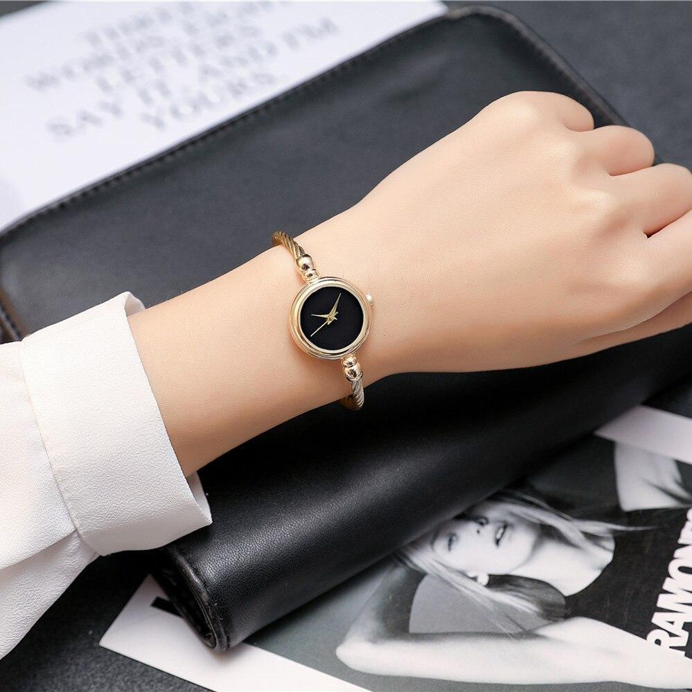 2017 BGG Top Nowa skórzana Lady Twórczy zegarek w stylu - Zegarki damskie - Zdjęcie 5