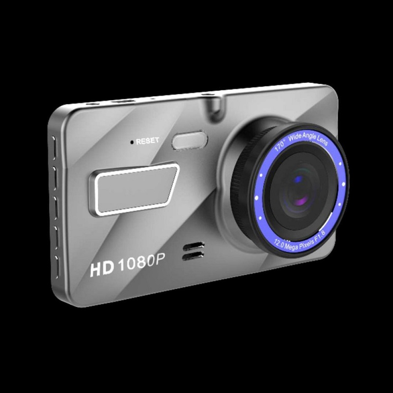 Car DVR 4 Inch A10 Full HD 1080P Dual Lens Vehicle 170 Degree Dash Video Camera View Wide Angle Loop Recording Motion Detection