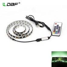 DBF USB RGB LED Strip 5050 Flexible Adhesive Tape Multi color Changing