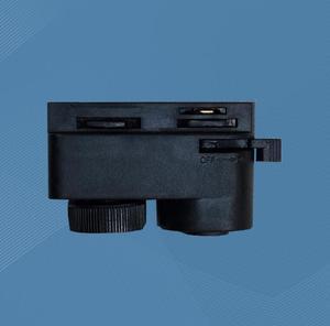 Image 2 - Connecteur de lampe en plastique à deux voies accessoires de Base de lampe de voie commune blanc/noir 250 pièces