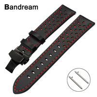 22mm Trefoil Genuine Leather Watchband For Xiaomi Huami Amazfit 2 2S Quick Release Watch Band Steel