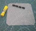 3D impresora plataforma de impresión polaco de plato de vidrio templado pegamento de bulldog clip para Anet A8/Wanhao/Monoprice 3D impresora