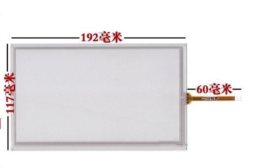 Nova 8 polegada tela de toque é adequado para entrega gratuita de hsd080idw1-c01 c00 a01 192*117 tela de escrita de tela