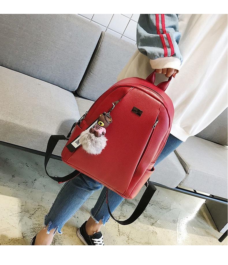 HTB1MVm6aZfrK1Rjy1Xdq6yemFXaQ Fashion Gold Leather Backpack Women Black Vintage Large Bag For Female Teenage Girls School Bag Solid Backpacks mochila XA56H