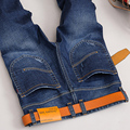 2017 del Otoño del verano de los pantalones vaqueros Retro colores Con Marca de Alta calidad pantalones vaqueros rectos de talla grande denim hombre jeans