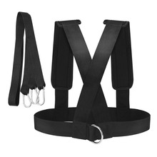 Sled Harness Vest & Padded Shoulders - Heavy Duty Professional Great for Team Sports Speed Strength Training