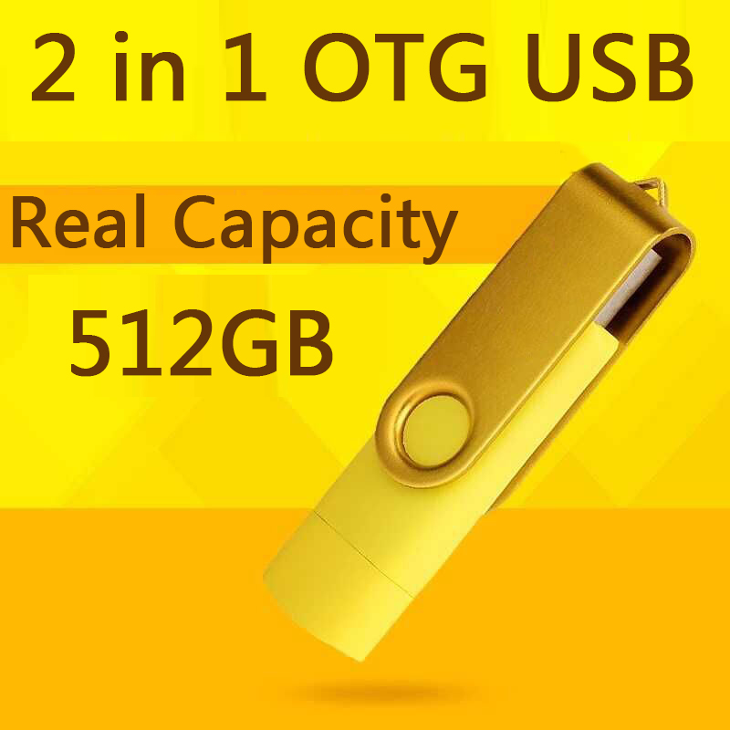 USB Drive 2.0 100% 32GB Smart Phone Tablet PC Flash Drives OTG External Storage Micro USB Pen Drive Memory Stick 64GB 128GB 1TB