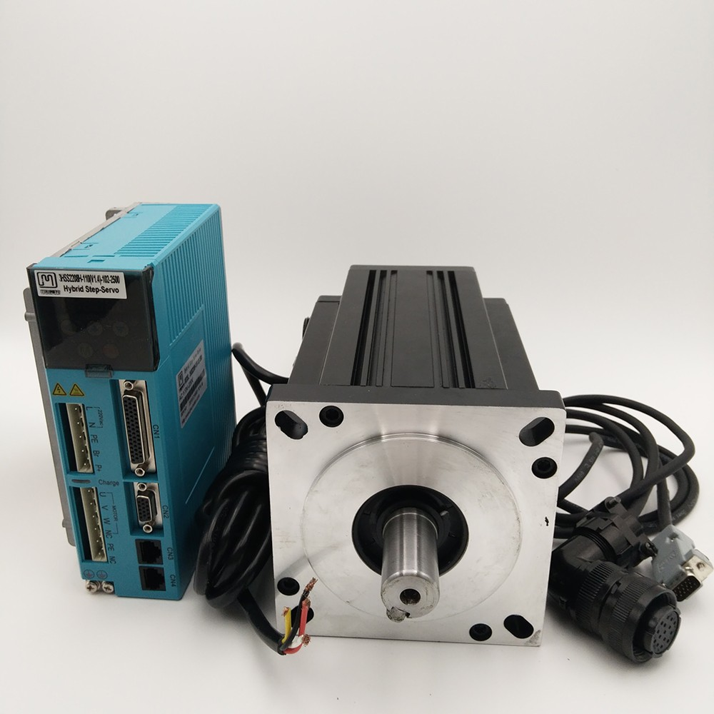 2 phase 130mm closed loop stepper kit NEMA54 28NM 7.5A closed loop Stepper Motor+Drive Kit 130J12205EC-2500+3HSS2208H цены