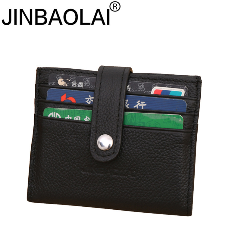 Slim Genuine Leather Men Wallet Purse Male For Small Money Cuzdan Vallet Business Card Holder Walet Kashelek Partmone Kashelki