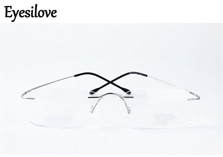 Ultra-light Titanium Alloy Rimless myopia glasses Nearsighted Glasses prescription glasses -1.0,-1.5,-2.0,-2.5,-3.0,-3.5,-4.0