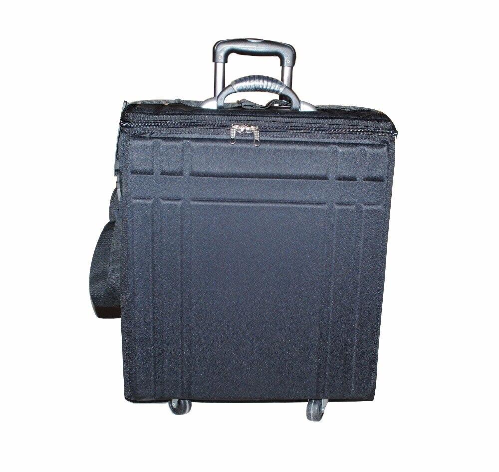 Présentoir léger de étui de lunettes de soleil de stockage de lunettes de valise d'eva de lunettes pour le système représentatif de chariot à sac d'échantillon de ventes