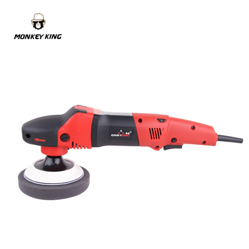 150mm 1380w variable speed car polisher rotary polsiher double torque polisher wax polishing machine