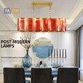led e14 Нордик Железные Кристалл Раскрашенная светодиодный светильник светодиодный свет. открытый Подвесные Светильники. подвесной светильн...