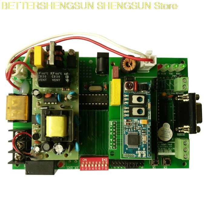 Graduation design development board learning board power line carrier Evaluation Kit BWP15 with schematic diagram PCB source codGraduation design development board learning board power line carrier Evaluation Kit BWP15 with schematic diagram PCB source cod