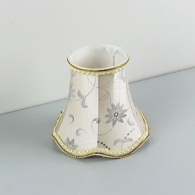 Lovely Discount Wall Light Lampshades, Glass Chandelier Floral Lamp Covers, E14  Hole 3cm