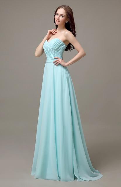 Robe bleu clair pas cher
