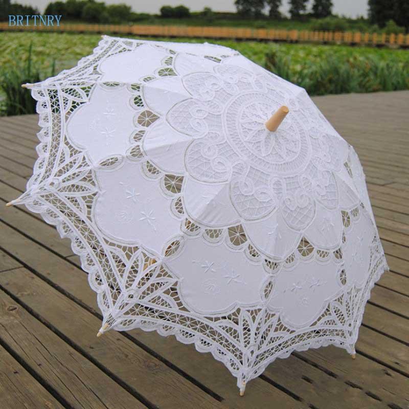Hand-Made-White-Victorian-Umbrella-Lace-Wedding-Bridal-Umbrella (1)