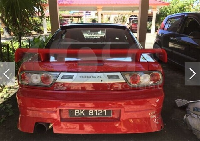 1989-2002 Nissan S13 Silvia PS13 S14 S14A S15 326 Power Style Rear Spoiler FRP (20)