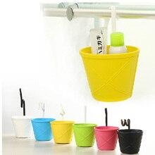 High quality hanging basket bathroom storage basket car basket garbage bucket