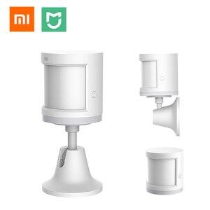 Image 1 - Original Xiaomi Mijia Human Body Sensor Mi Motion Sensor ZigBee Version Smart Home Linkage for Mi Home APP Wireless Connection