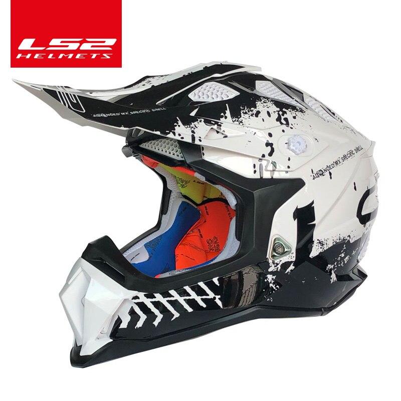 Original Ls2 Mx470 Subverter Off-road Helmet