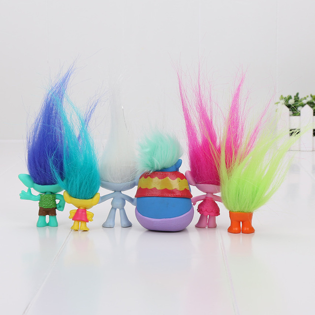 Trolls Action Figure Toy (6Pcs/Set)