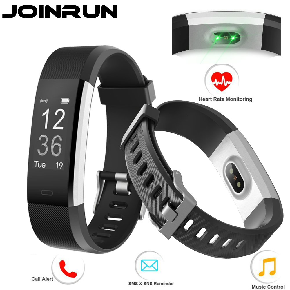 Joinrun ID115 HR Plus Smart band Bracelet 0.96 inch OLED Screen Heart Rate Monitor Pedometer Fitness tracker Smartband Wristband