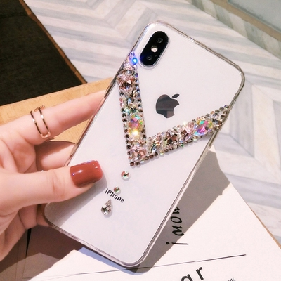 LaMaDiaa 3D Luxury Diamond Shell Glitter Soft Phone Case For Samsung Galaxy S20 S8 S9 S10 Plus Lite SE S7 edge Note10 9 8 Coque image