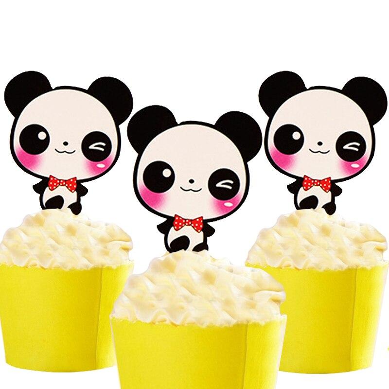 5pcs Animals Panda Cat Elephant Lion Owl Chicken theme kids Birthday ...