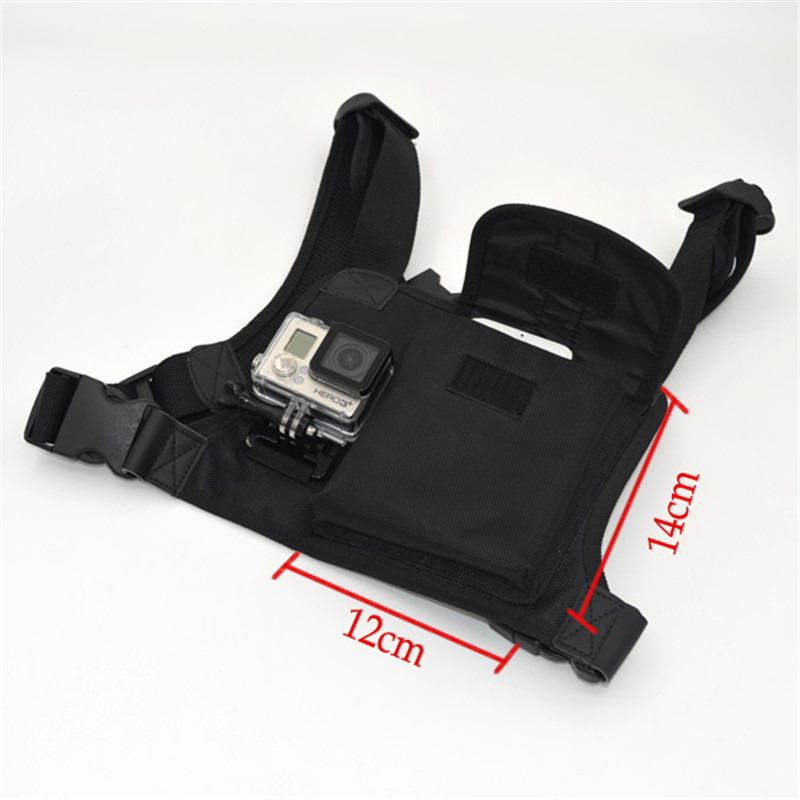 Gopro chest strap belt harness Mount Multi functional with ...