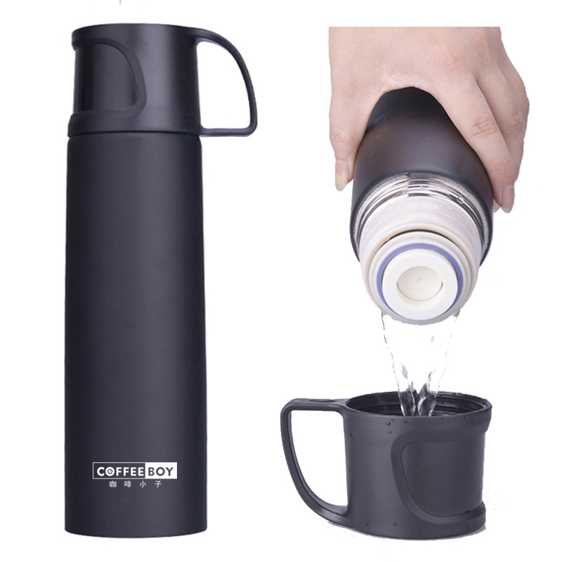 Coffee Boy 500ML Thermos Bottle With Lid Stainless Steel Vacuum Flasks For Tea Thermo Mug Women thermocup
