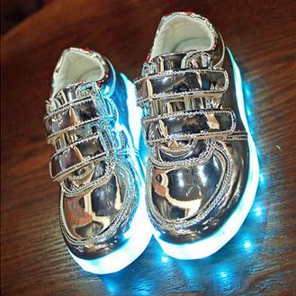 kids sneakers mode opladen lichtgevende verlichte kleurrijke led verlichting kinderen schoenen casual platte meisjes jongen schoenen eur28 35 8 kleur d