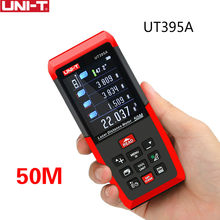 UNI-T 50m finder 120m range finder medidores de distância a laser ut395/ut396 séries com lente 2mp melhor precisão usb exportação de dados software do computador