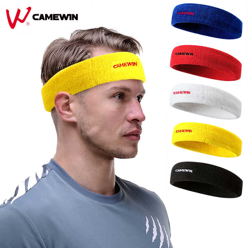 Sport Elastics Sweatband Absorbent Yoga Hairband 1 Pcs Brand Running Outdoor Fitness Cotton Headband Anti Sweat Hair Band