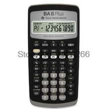 2016 Hot Sale Ti BA II Plus 12 Digits Plastic Led Calculatrice Calculadora Financial Calculations Students