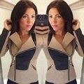 Primavera Outono novas mulheres jaqueta Mulheres jaqueta com capuz Moda Casual Fina Blusão Zipper Coats