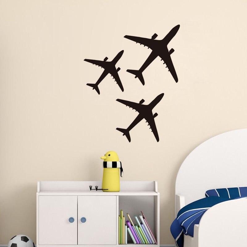 3 фото, стены винила Стикеры для детской комнаты Водонепроницаемый съемный Книги по искусству росписи Домашний Декор